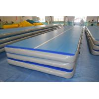 Quality Inflatable Gymnastics Tumbling Mats Fire Retardant High Strength for sale