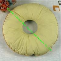 Wholesale Japanese Hollow Round Seat Cushion , Cotton Bolster Pillows for Decorative from china suppliers