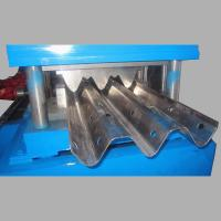Wholesale Material thickness 2 to 4mm guard railway roll forming machine hydraulic power 5.5KW from china suppliers