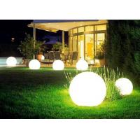 Quality Custom Multi Color LED Flash Light Floating Ball Rechargeable Lithium Battery for sale