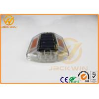 Wholesale Yellow Polycarbonate Solar Road Cats Eyes Road Markings Path Deck Dock LED Light from china suppliers