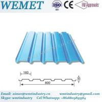 Wholesale Corrugated steel sheet for steel structure building facade WMT-30-160-800 from china suppliers