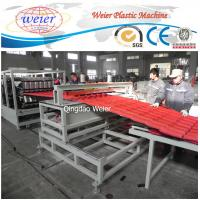 Wholesale Polycarbonate Corrugated Roof Sheeting Machine Plastic Extrusion Line Width 1000mm from china suppliers