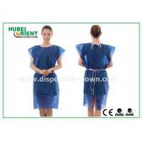 Wholesale PP Nonwoven Disposable Isolation Gowns , disposable patient gowns without Sleeves from china suppliers