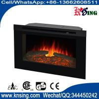 """Wholesale 30"""" insert electric fireplace heater log LED flame effect ZCR3830 remote control built-in flat front electric stove from china suppliers"""