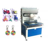 Buy cheap Semi Automatic PVC Label Injection Machine , 12 Colors PVC Dispenser Machine from wholesalers