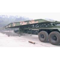 Quality Heavy Mountain Bridge / Emergency Bridge / Mechanized Bridge With 55t / 17t Load for sale