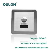 Wholesale OULON automatic toilet flusher with maunal over-riding button Leo3201DC&AC from china suppliers