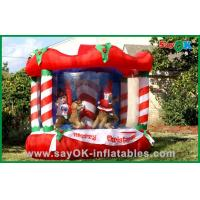 Wholesale Inflatable Christmas Decoration House Bouncer , Custom Inflatables Product from china suppliers