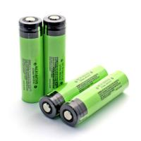 Wholesale Genuine Panasonic NCR18650B 3400mah 3.7 volts rechargeable lithium battery protection with button top from china suppliers