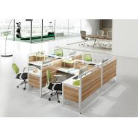 Quality Modular Furniture Office Cubicle Workstation Office Wooden Computer  Design Table for sale
