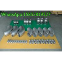 Wholesale Tees Stainless Steel Fittings and Flanges , Stainless Steel Weld Fittings from china suppliers