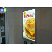 Wholesale Hanging Poster Snap Frame Light Box High Brightness 3D Laser Engraving from china suppliers