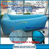 Wholesale factory detect sale Fast Inflatable Lazy Bag Out Door Lazy Air Bag Lazy Sofa one opening from china suppliers