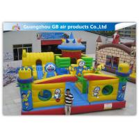 Wholesale Interesting Happy Family Inflatable Fun City Park Blow Up Bouncy Castle For Big Kids from china suppliers