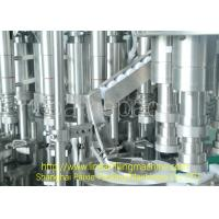 Wholesale Energy Saving 3 In 1 Filling Machine Syrup Glass Bottle Production Line Multifunctional from china suppliers