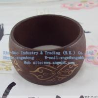 Wholesale Wooden bracelets, wood grain bracelets, solid wood bracelet from china suppliers