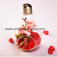 Wholesale Hanging bulb glass vase air plant votive from china suppliers