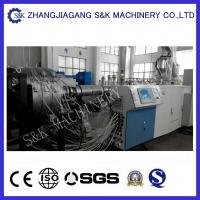 Wholesale Black Drainage pipe PP Extrusion Machine ,19500 N traction profile extrusion machine from china suppliers