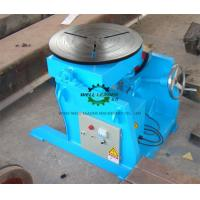 Wholesale Manual Flange Rotary Table For Welding , Tube Welding Positioner 0.2 Ton Tilting  Capacity from china suppliers