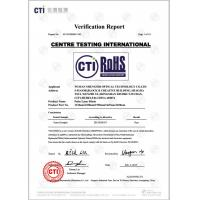 Wuhan Shengshi Optical Technology Co., Ltd Certifications