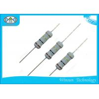 Wholesale Small Size 1 / 4W Metal Oxide Film Resistor 0 Ohm / 100 Ohm Precision Resistor from china suppliers