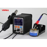 Wholesale 2 in 1 Hot Air Rework LCD Digital Mobile Phone Soldering Station Hot Air Gun Station 995D from china suppliers