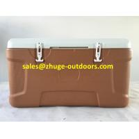 Wholesale Thermal 100 Liter PU Insulation Blue Plastic Ice Cooler Box from china suppliers