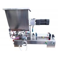 Wholesale 0.1KW Power Bottle Filling Machine / Semi Automatic Liquid Filling Machine For Chemical from china suppliers