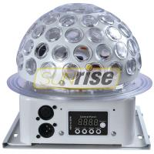 Mini Led Rgb Crystal Magic Ball Effect Light 6x3W With 5 Color Circular Motion Effect