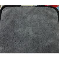 Wholesale 30 * 30 Gray Color Microfiber Kitchen Towels 80 %  Polyester 20 %  Polyamide Coral Fleece from china suppliers