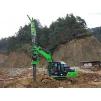 Wholesale Stable Ground Bored Hole Pile Driving Machine KR50A Green Color from china suppliers