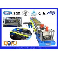 Buy cheap Constructional Use Purlin Roll Forming Machine / Full Auto Cold Roll Former from wholesalers