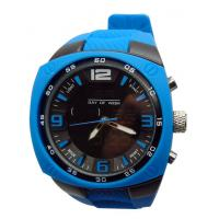 Wholesale Water Resistance Mens Quartz Watches with 3D Dial Silicone / Japan Movement / Life from china suppliers
