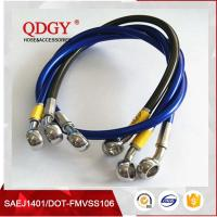 Buy cheap ISO9001Certificated DOT FMVSS106 approved 1/8 size racing car and racing motorcycle stainless steel braided teflon hose from wholesalers
