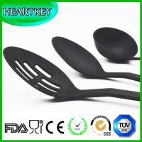 BPA free transparent silicone non-stick kitchen cooking utensils spatula tools set