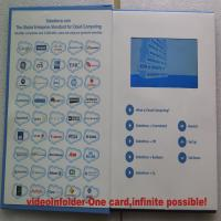 Wholesale 4.3 inch advertising Video In Folder with A4 / A5 paper card , 2G / 4G / 8G from china suppliers