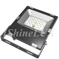 Wholesale Slimline 30 Wattage Outdoor LED Flood Lights Meanwell Driver Integrated Housing from china suppliers