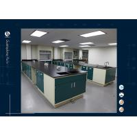 Wholesale Full Steel Floor Mounted Laboratory Island Bench Chemistry Laboratory Furnitue from china suppliers