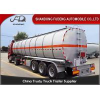Wholesale 42000 L fuel tanker semi truck trailer for diesel oil delivery with insulating layer from china suppliers