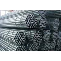 Wholesale Carbon Steel ERW Steel Pipe ASTM A53 API 5L SCH40 , ISO BV Hollow Steel Tubes from china suppliers