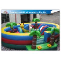 Wholesale Waterproof Round Blow Up Jumping Castle Bouncy Inflatable For Kids / Adults from china suppliers