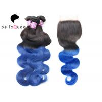 Wholesale BellaQueen 4PCS One Set  Ombre Remy Hair Extensions Indian Remy Hair from china suppliers