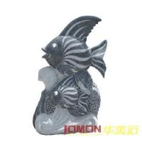 Wholesale Granite Fish Statue, Fish Carving (XMJ-FS02) from china suppliers