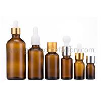 Wholesale 5ml-100ml Amber Essential Oil Glass Bottles With Caps or Droppers from china suppliers