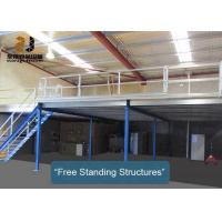 Buy cheap Flexible Mezzanine Platform System With Stairway Capacity 500kg - 4000kg/Sqm from wholesalers