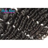 "Wholesale 18"" Deep Wave Eurasian Human Hair Virgin One Donor Hair No shedding from china suppliers"