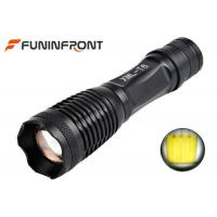 Wholesale CREE XM-L T6 Zoom LED Flashlight Working with 18650 Li-ion battery or 3xaaa from china suppliers