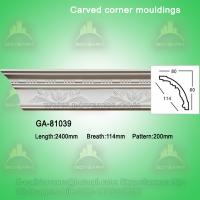 Wholesale Fashion carved pu crown moldings from china suppliers