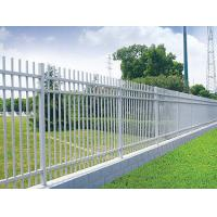 Wholesale Powder coated steel fence with two rails from china suppliers